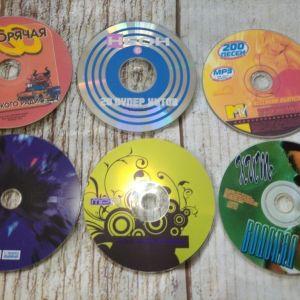 6 CD ΞΕΝΑ ΤΡΑΓΟΥΔΙΑ.
