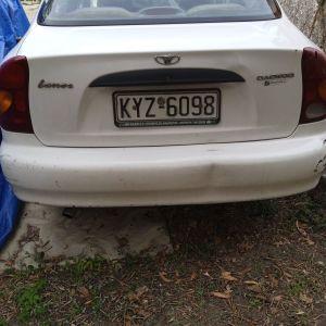 Αυτοκίνητο άσπρο, μάρκας DAEWOO, μοντέλου KLAT του 2001