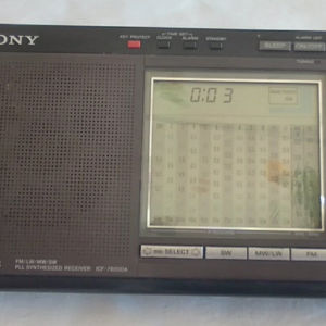 Vintage Radio SONY ICF-7600DA