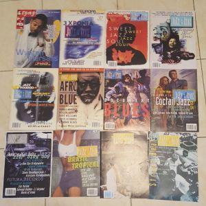 """Περιοδικά """"Jazz & Τζαζ"""" 22 τεύχη"""