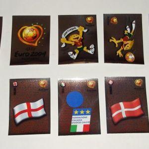Αυτοκόλλητα χαρτάκια Panini (Euro 2004)