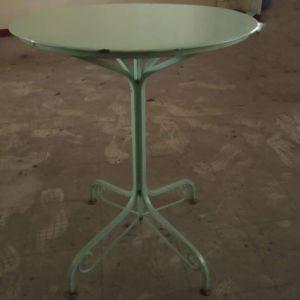 Τραπέζια καφετέριας μεταλλικά τύπου Ζαππείου