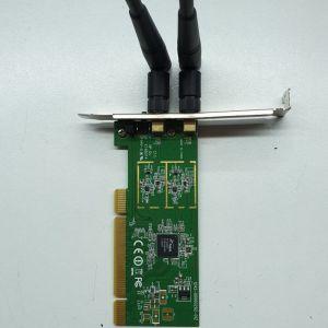 PCI Κάρτα Ασύρματου Δικτύου Edimax EW-7722In 300Mbps
