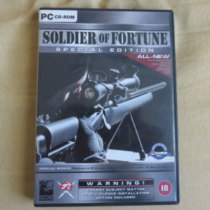 Soldier of fortune special edition PC game