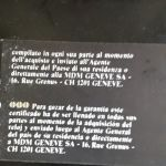 Ρολόϊ χειρός Hublot unisex, αγορά 1982, πλήρες με πιστοποιητικό