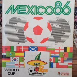 Άλμπουμ Panini Mexico 1986