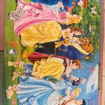 puzzle πριγκίπισσες 104 clémentoni