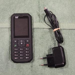 Κινητό τηλέφωνο Caterpillar B35 σχεδόν καινούργιο αφού χρησιμοποιήθηκε μόνο 6 μήνες.