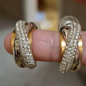 Swarovski σκουλαρίκια