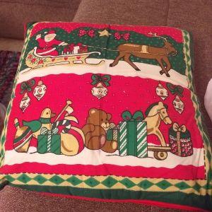 χριστουγεννιατικο μαξιλαρι