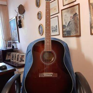 Ακουστική Κιθάρα EPIPHONE AJ-220S Mahogany Burst