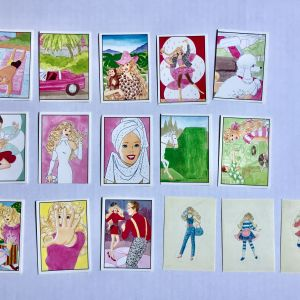 Panini Barbie stickers