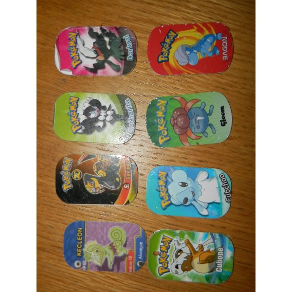 8 tapes pokemon