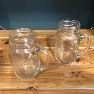 Γυάλινα ποτήρια με χερούλι 650ml 24τεμάχια άθικτα UTOPIA Tennessee Handled Jar