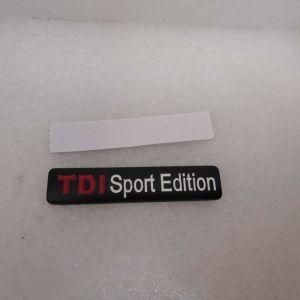 Μεταλλικο Διακοσμητικο Αυτοκινητου TDI Sport Edition