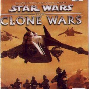 STAR WARS THE CLONE WARS - PS2