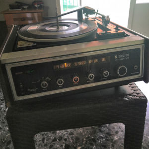 VINTAGE ZENITH DIGILITE RECORD PLAYER STEREO