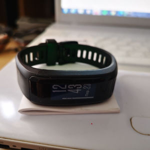Smartband Garmin Vivosmart HR ελληνικό μενού