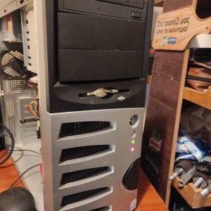 σταθερός υπολογιστής κομπλέ 2πιρινος W10