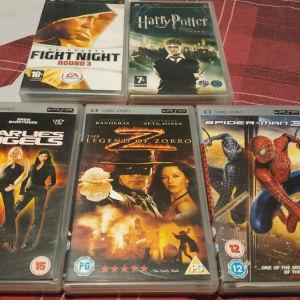 PSP Games & Films