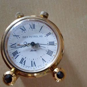 Επιτραπέζιο ρολόι μινιατούρα.