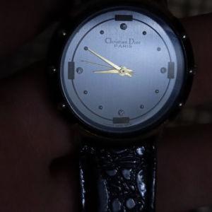 γυναικείο ρολόι Dior vintage 80s
