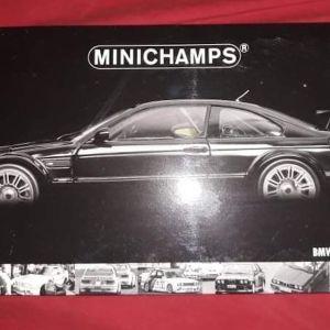 "BMW M3 GTR ""STREET"" 2001 / MINICHAMPS / 1:18 - BLACK / DIECAST"