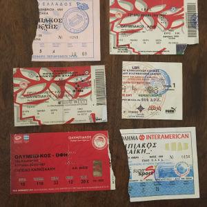 εισιτήρια αποκομματα ολυμπιακος