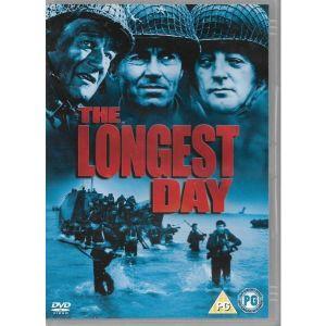 DVD / THE LONGEST DAY / ORIGINALDVD /  ΧΩΡΙΣ ΥΠΟΤΙΤΛΟΥΣ