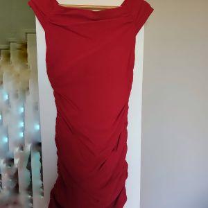 Bsb κόκκινο φόρεμα