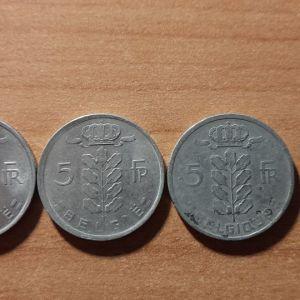 Συλλογή Νομισμάτων από το Βέλγιο