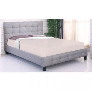 Κρεβάτι Μοντέρνο, Διπλό Για Στρώμα 160X200Cm - ΓΚΡΙ