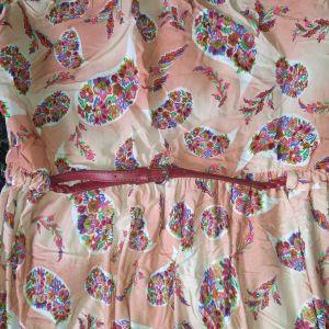 MANGO strapless dress size L