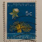 Γραμματόσημο της Νότιας Αφρικής (1961)