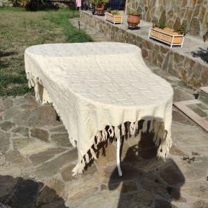 Χειροποίητη μάλλινη κουβέρτα