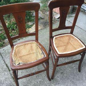 Διαφορες vintage ξύλινες καρέκλες €10 η μια