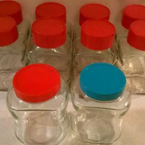 Βάζα αποθήκευσης 400 ml ( 10 )