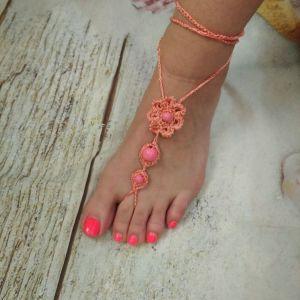 Κοσμήματα *Barefoot* για τα πόδια. Καινουργια.