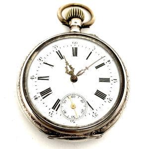 Ρολόι Τσεπης Ασημενιο vintage 1900s
