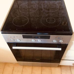 SIEMENS HA723510G/70 INOX Κουζίνα με Κεραμικές Εστίες / Με ψηφιακές ενδείξεις /  New Generation cooking !