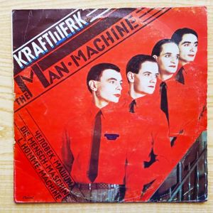 KRAFTWERK  -  The Man Machine (1978) Δισκος Βινυλιου Electronic, Electro-Pop.