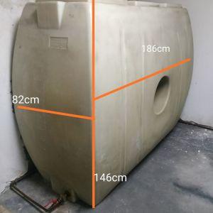 Δεξαμενή πετρελαίου θέρμανσης 1600 λίτρα
