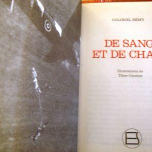 COLONEL REMY.DE SANG ET DE CHAIR