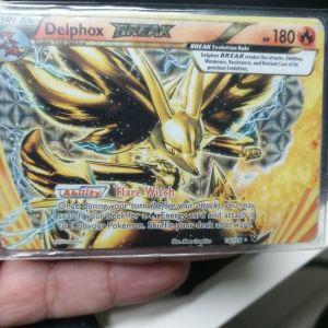 Delphox BREAK συλλεκτική κάρτα pokemon