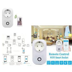 Τηλεχειριζόμενη Wi-Fi πρίζα για απομακρυσμένο έλεγχο ηλεκτρικών συσκευών ON - OFF από το κινητό - tablet