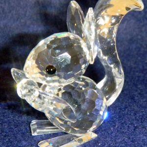 Swarovski σκιουράκι μινιατούρα - SWAROVSKI SQUIRREL LONG EARS