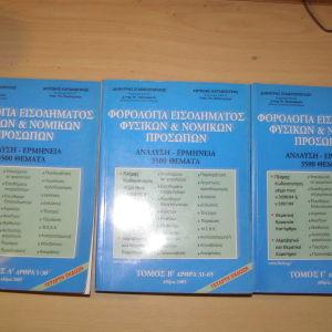 Φορολογία Εισοδήματος Φυσικών και Νομικών Προσώπων, Δημήτρη Σταματόπουλου