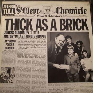 Βινύλιο - JETHROTULL - THICK AS A BRICK
