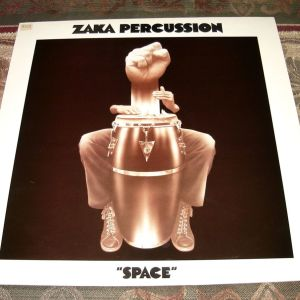 Zaka Percussion - Space (Βινύλιο)