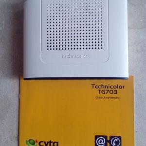 ADSL Router Technicolor TG703
